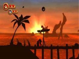 Sommige levels hebben een hele coole grafische stijl.