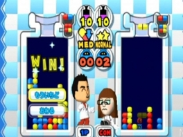 Hier is geen Dr. Mario. Dit is Hr. & Mevr. Mii