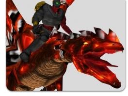 Speel als verschillende ruiters en draken, die er allemaal uitzien alsof ze uit een N64-game komen.