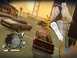 De motion controls van de Wii worden ook gebruikt voor het racen.