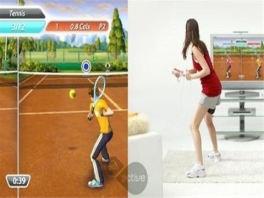 Je speelt vooral met de Wii-mote, en soms komt de Nunchuck eraan te pas.