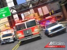 Schiet te hulp in Crisis City. Stap in de ambulance, brandweer of politie auto.