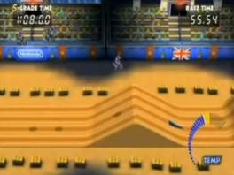 Ook zien we het stadionlevel uit <a href = https://www.mario64.nl/Nintendo64_Excitebike_64.htm target = _blank>Excitebike 64</a> weer terug