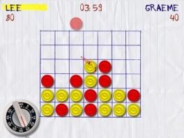 Zie jij ook hoe rood kan voorkomen dat geel vier-op-een-rij krijgt?