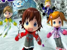 Speel met je eigen Mii's in Family Ski!
