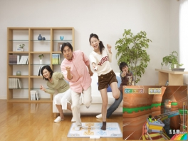 Family Trainer: Extreme Challenge: Afbeelding met speelbare characters