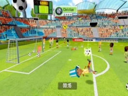 Fantastic Football Fan Party: Screenshot