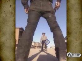 Speel als... stilstaande foto's van cowboys.
