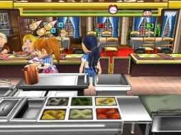 Commandeer het team in de keuken om ervoor te zorgen dat al je klanten op tijd te eten krijgen!