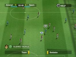 Als je fifa speelt, zie je het veld en de spelers heel duidelijk.