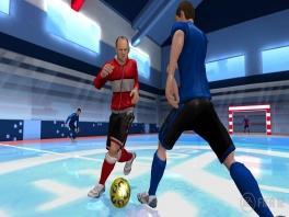De voetbalzaal van Fifa 12.