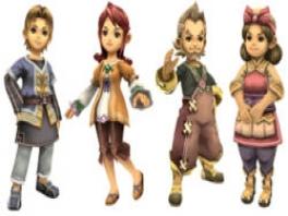 Door de stijl van de personages krijg je een beetje het idee in <a href = https://www.mariowii.nl/wii_spel_info.php?Nintendo=The_Legend_of_Zelda_Twilight_Princess>Twilight Princess</a> te zijn beland.