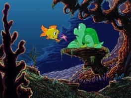 Wil jij Freddie Fish helpen?