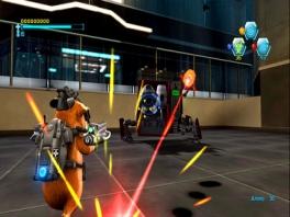 G-Force! Hamsters tegen <a href = https://www.mariocube.nl/GameCube_Spelinfo.php?Nintendo=Robots>robots</a>. Klinkt gek maar is fantastisch!