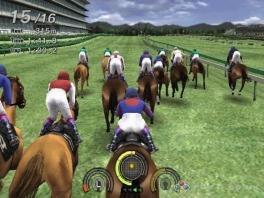 """Paardrijden is altijd leuk, maar zo'n gele """"sticker"""" op de kont van 't paard leidt nogal af..."""