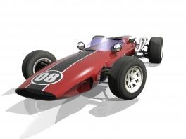 In de hoofdrol: F1 bolides uit de jaren 60.