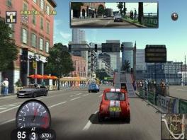 Race door drukke steden heen!