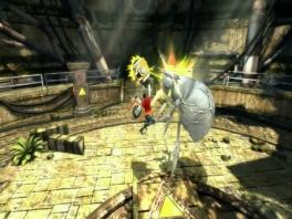 Die heeft een beetje teveel <a href=https://www.mariowii.nl/wii_spel_info.php?Nintendo=Super_Smash_Bros_Brawl>Smash Bros</a> gespeeld.