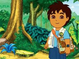 Speel als Diego Marquéz, de neef van Dora.