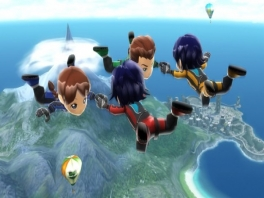 Deze personages hebben wel wat weg van Mii's met hun grote hoofden...