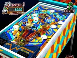 Dit spel bevat mooie kleurrijke pinball machines.