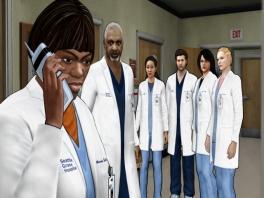 Speel als de hele cast van de serie Grey's Anatomy... althans, degenen die in 2009 nog in leven waren.