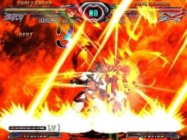 Gevechten in Guilty Gear spatten bijna letterlijk van je scherm dankzij de immense special moves.