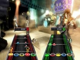 Rock met meer dan 80 verschillende nummers in Guitar Hero 5.