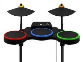 Hier is een vooraanzicht van de Drums.