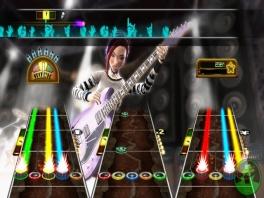 Zo ziet het spel eruit als je met 3 instrumenten tegelijk speelt!