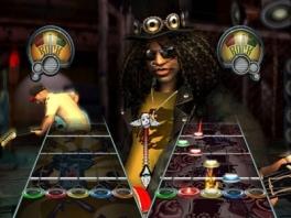 Ook is er een multiplayer optie bij Guitar Hero III