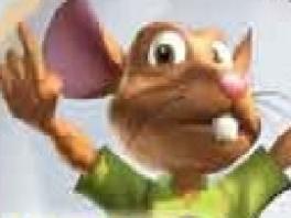 Dat lijkt me geen hamster, eerder een rat... Of natuurlijk gewoon een ondervoede hamster!