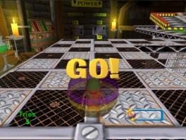 Dit doet me toch wel heel erg denken aan &quot;<a href = https://www.mariocube.nl/GameCube_Spelinfo.php?Nintendo=Super_Monkey_Ball target = _blank>Monkey Ball</a>&quot;...