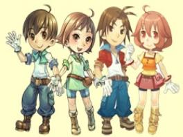 Kies één van deze vier figuurtjes om te spelen!