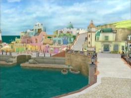 Verken verschillende plaatsen zoals Harmonica Town