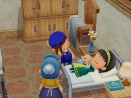 """Wacht even, hebben we Toph uit ""<a href = https://www.mariowii.nl/wii_spel_info.php?Nintendo=James_Camerons_Avatar_The_Game>Avatar</a>"" op ons bed liggen?"""