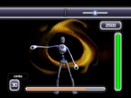 Helix speelt net als andere rythm-games, maar is  iets creatiever in haar presentatie.