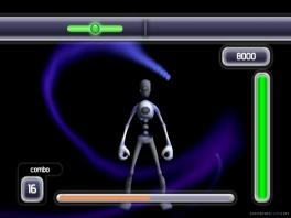 De bewegingen die je maakt zijn gevarieerd, zoals dans- maar ook vechtbewegingen!
