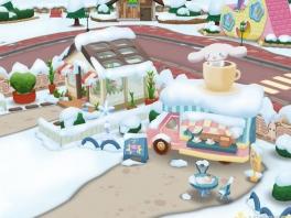 Een leuk detail aan dit spel is het voorbijkomen van de seizoenen. Winterpret!