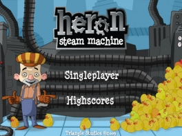 In Heron: Steam Machine speel je als loodgieter Ron.