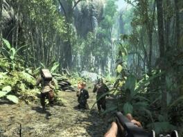 Vecht je een weg door de jungle, en verdrijf de japanezen.