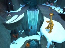 Al dit ijs zal binnenkort smelten... aan jou de taak om te vluchten voordat het zover is!