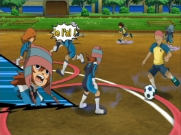 Inazuma Eleven Strikers heeft mooie 3D-graphics!