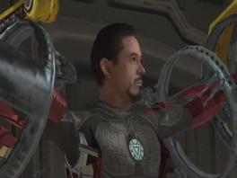 Ik vind Tony Stark gespeeld door Robert Downey Jr. knapper...