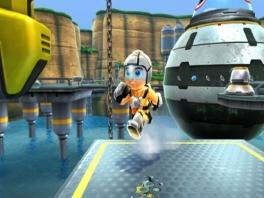 Speel als <a href = https://www.mariowii.nl/wii_spel_info.php?Nintendo=Jett_Rocket>Jett Rocket</a>, die helemaal niet op Mega Man lijkt.