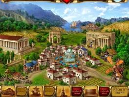 Door middel van puzzels op te lossen kan je meehelpen met het opbouwen van Rome.