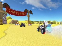 Ook in deze race game heb je de nodige turbo boosts!