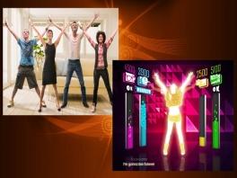 Dans met vier spelers in de woonkamer! Hoe beter je moves, hoe hoger je score!