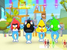 Dans als één van de Angry Birds.