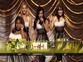 Niet alleen de songteksten, maar ook dansmoves kun je terugvinden op het scherm!
